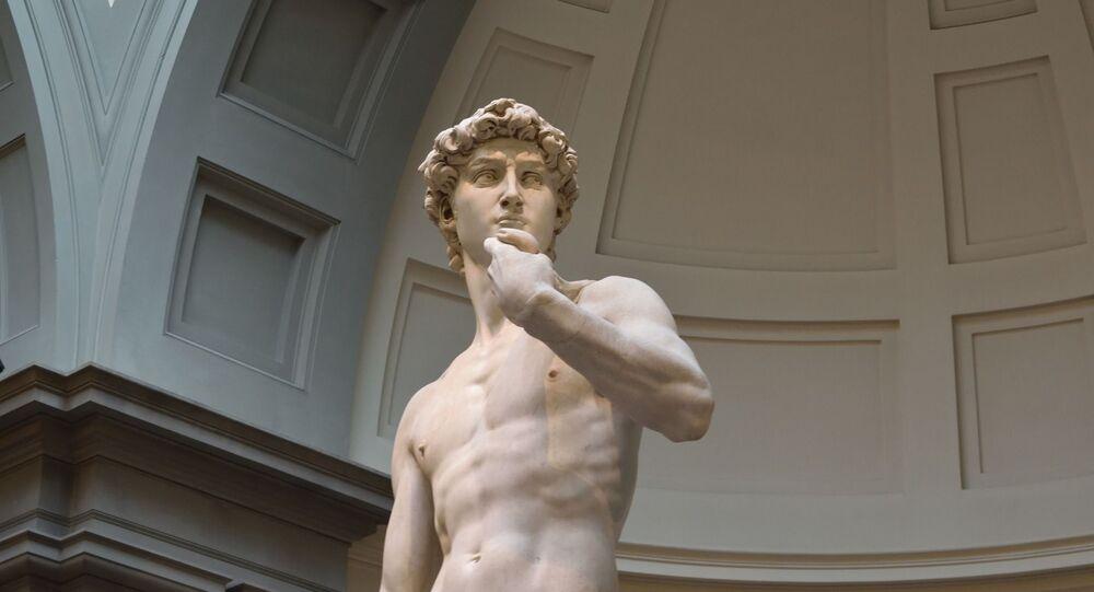 La escultura de David de Miguel Ángel