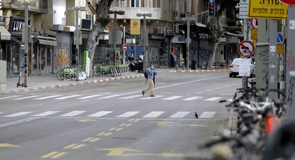 Tel Aviv durante la cuarentena
