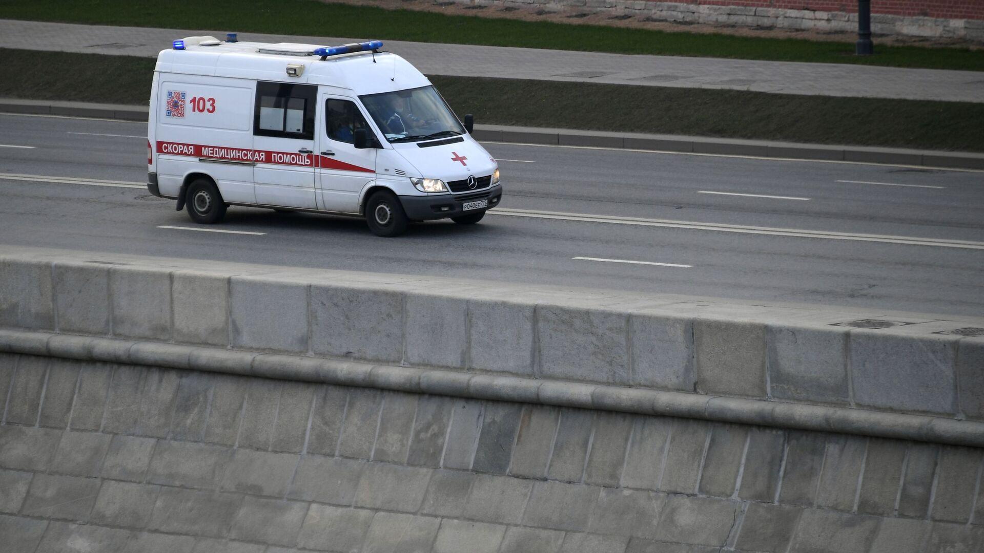 Ambulancia en Moscú - Sputnik Mundo, 1920, 29.03.2021