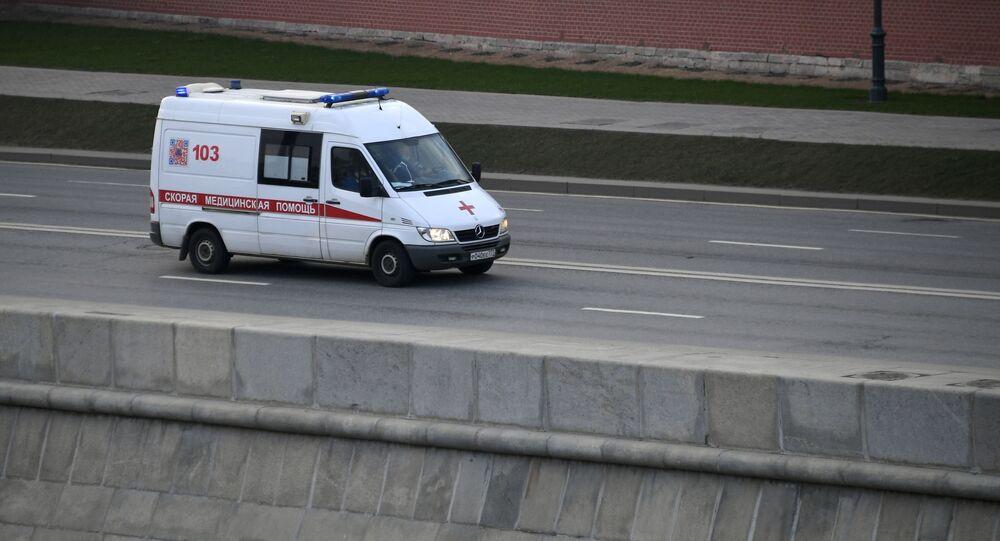 Ambulancia en Moscú