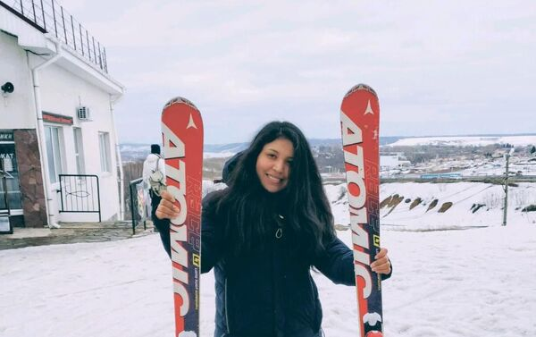Esquiando en Nizhny Nóvgorod - Sputnik Mundo