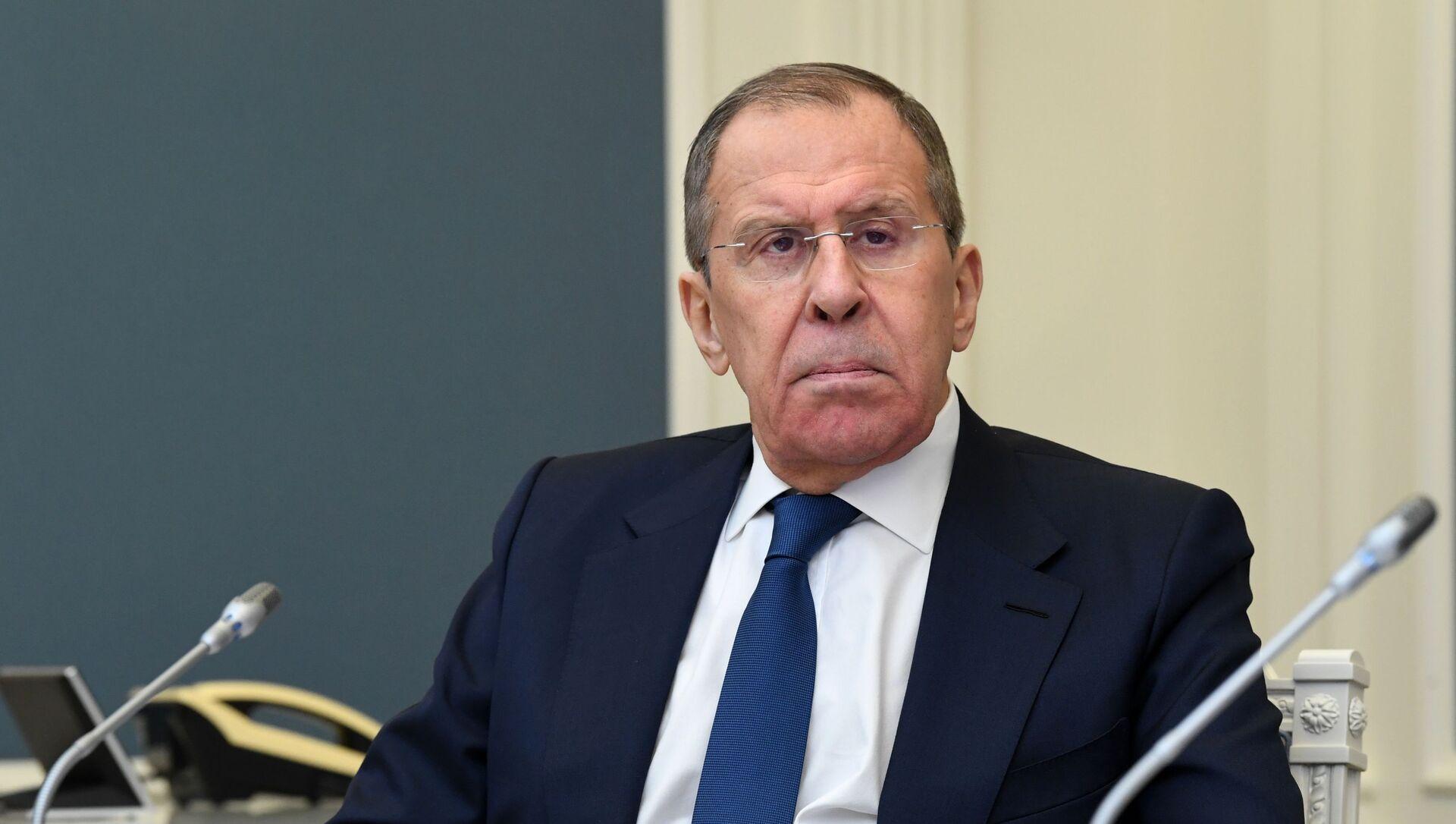 Serguéi Lavrov, ministro de Exteriores de Rusia - Sputnik Mundo, 1920, 26.01.2021
