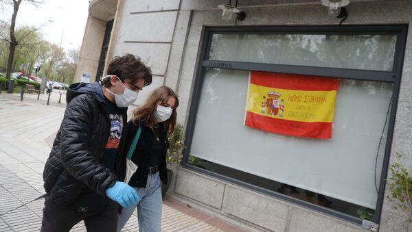 Coronavirus en España - Sputnik Mundo