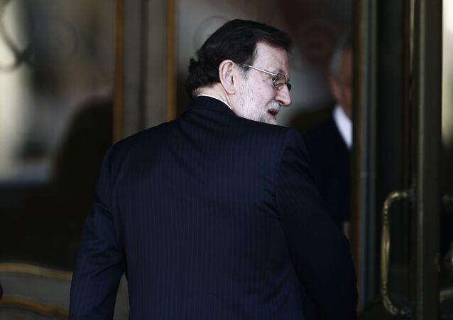 El expresidente español Mariano Rajoy