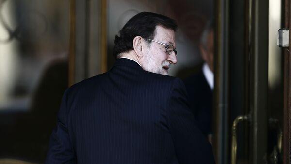 El expresidente español Mariano Rajoy - Sputnik Mundo