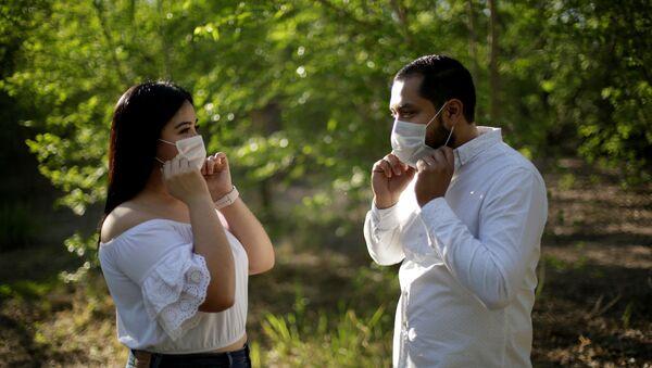 Una pareja mexicana (imagen referencial) - Sputnik Mundo
