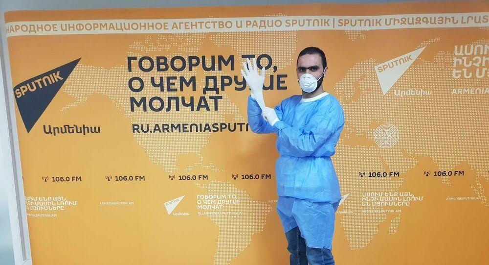 Un periodista de Sputnik Armenia