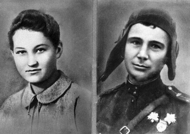 Zoya Kosmodemiánskaya y Alexandr Kosmodemianski