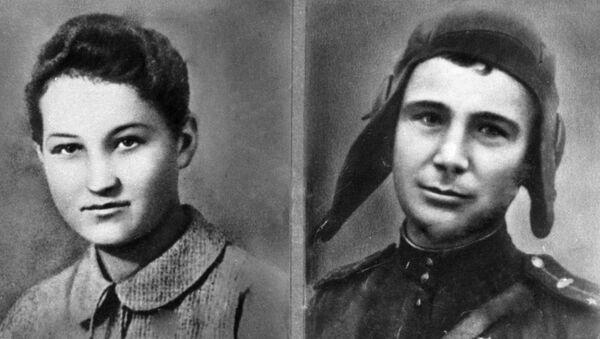 Zoya Kosmodemiánskaya y Alexandr Kosmodemianski - Sputnik Mundo