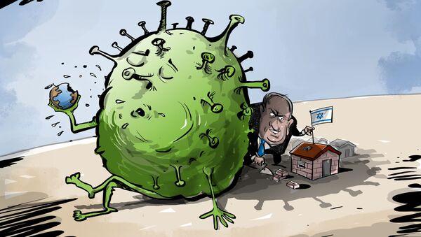 Oportunismo israelí: cómo Netanyahu está aprovechando el virus para anexionarse territorio - Sputnik Mundo