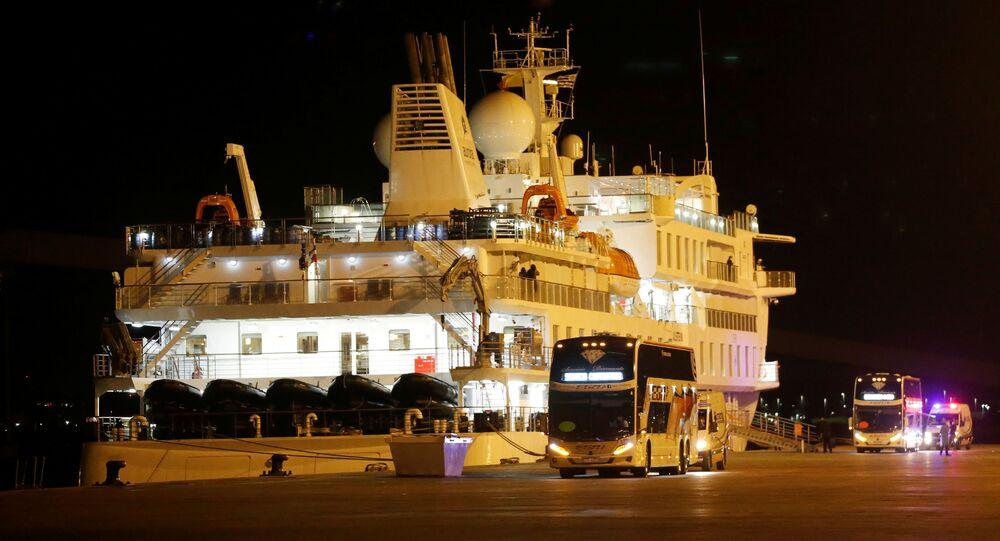 El crucero Greg Mortimer