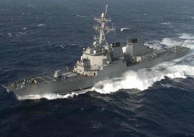 Destructor estadounidense USS Barry