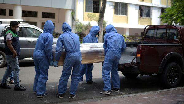 Funerales en Guayaquil - Sputnik Mundo
