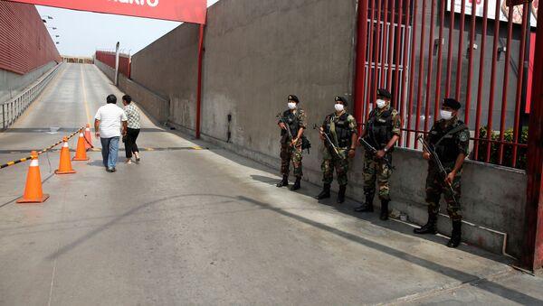 Policías de Perú (Archivo) - Sputnik Mundo