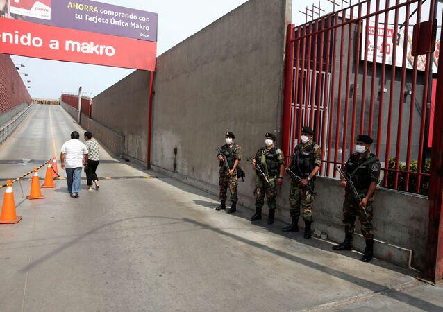 Policías de Perú (Archivo)
