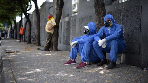 Coronavirus en Guayaquil - Sputnik Mundo