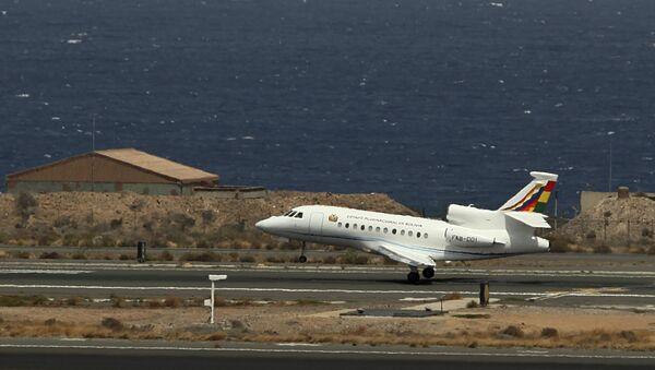 El avión presidencial de Bolivia - Sputnik Mundo