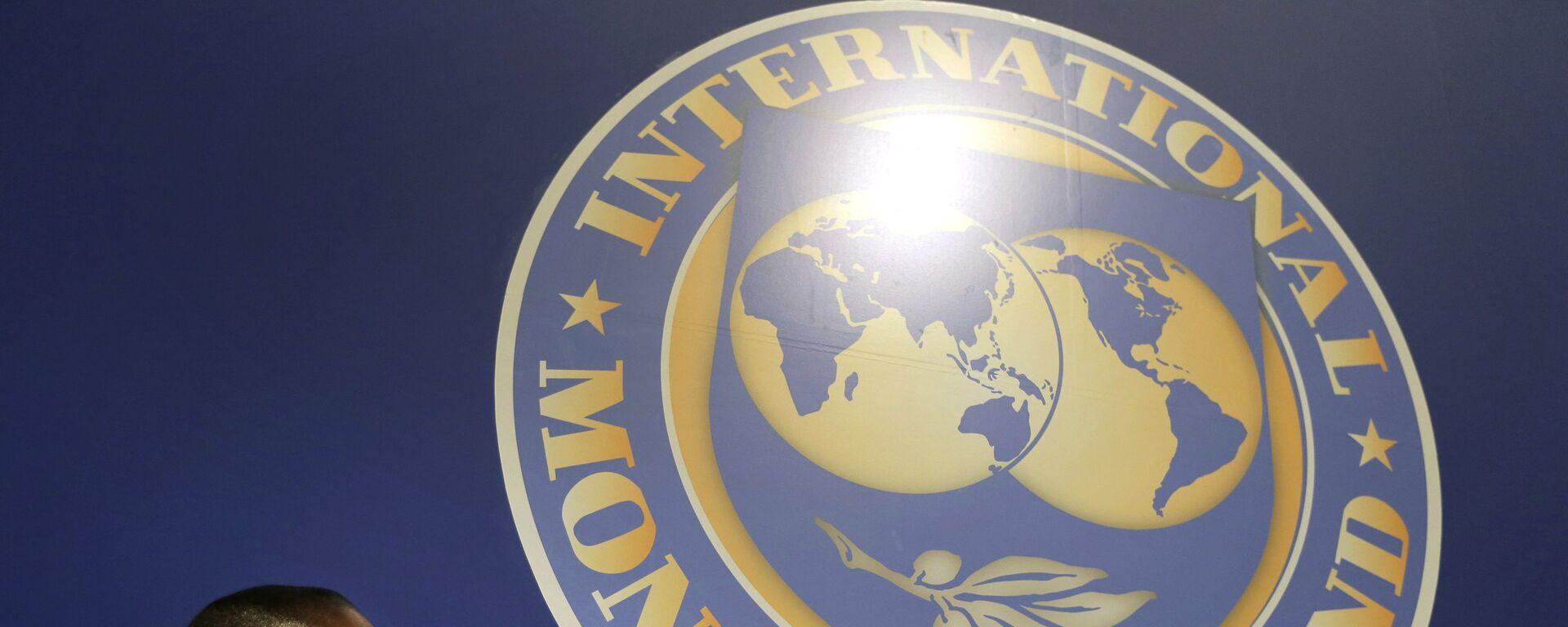 El logo del Fondo Monetario Internacional (FMI) - Sputnik Mundo, 1920, 03.08.2021