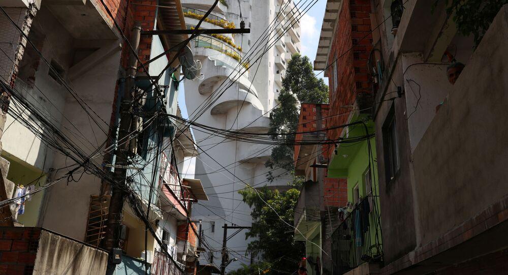 Paraisópolis, una de las mayores favelas de Sao Paulo