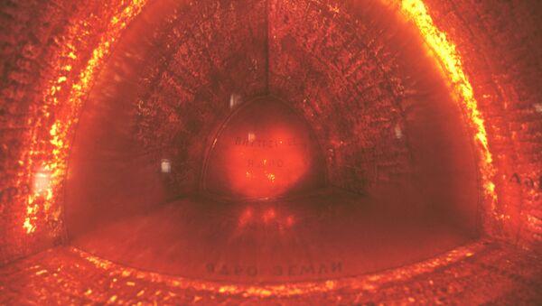 Una maqueta del interior de la Tierra - Sputnik Mundo