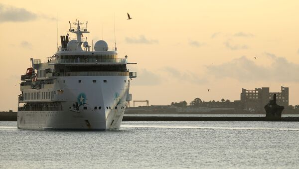 El crucero australiano Greg Mortimer - Sputnik Mundo