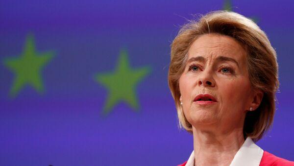 Ursula von der Leyen, la presidenta de la Comisión Europea - Sputnik Mundo