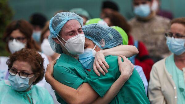Médicas españolas (imagen referencial) - Sputnik Mundo