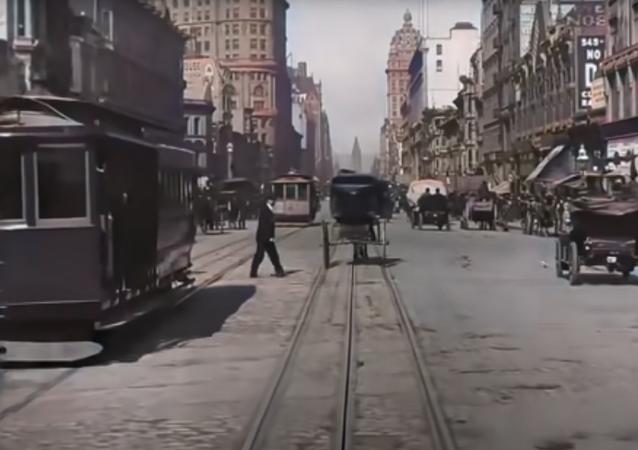 San Francisco en 1906, en definición 4K
