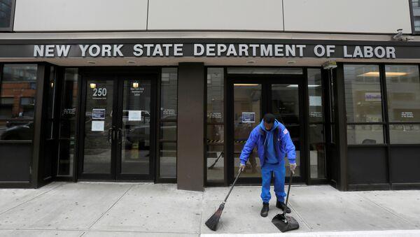 Edificio de la oficina general de empleo de Nueva York - Sputnik Mundo