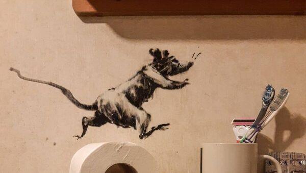 Una rata de Banksy - Sputnik Mundo