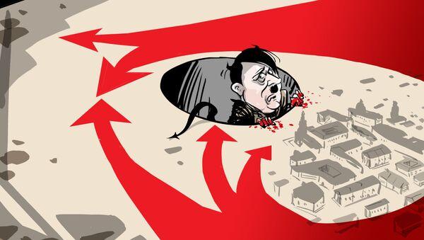 El demonio nazi, atrapado en su propia madriguera - Sputnik Mundo