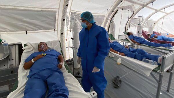 Hospital móvil en Guayaquil, Ecuador - Sputnik Mundo