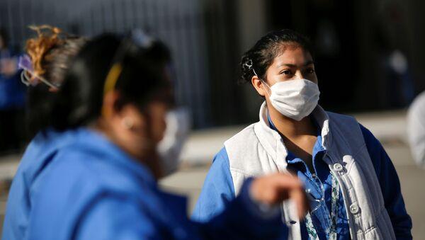 Personal médico en México durante la pandemia de COVID-19 - Sputnik Mundo
