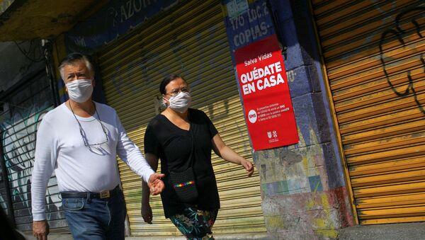 Situación en México por la pandemia de COVID-19 - Sputnik Mundo