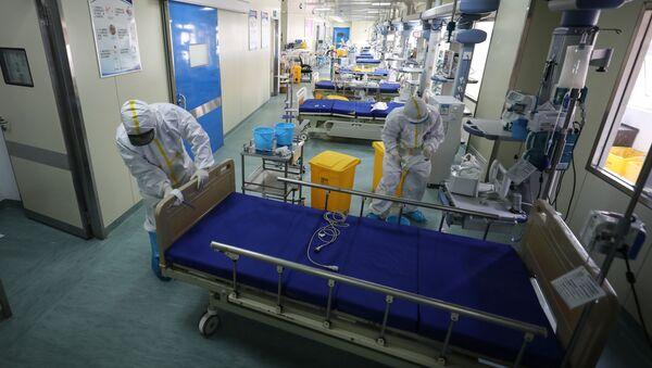 Hospital en Wuhan, China (archivo) - Sputnik Mundo