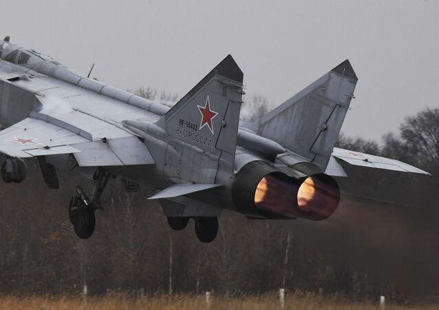 Un caza MIG-31 ruso (archivo)