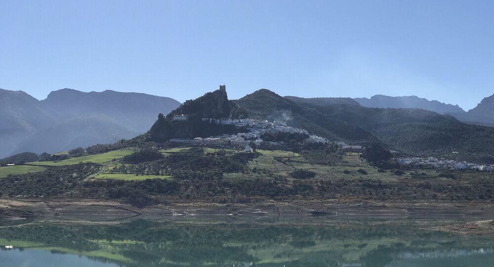 Vista panorámica de Zahara de la Sierra