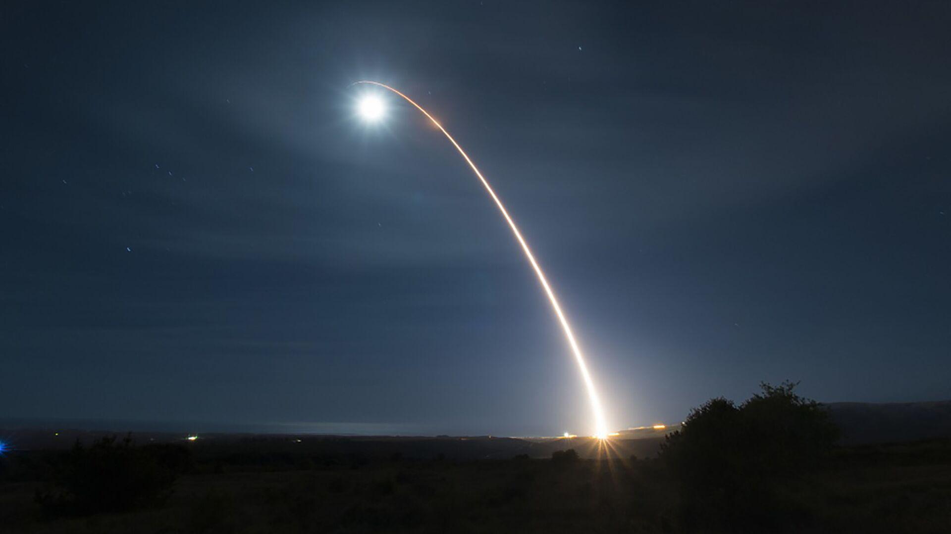 El lanzamiento de un misil balístico estadounidense  - Sputnik Mundo, 1920, 06.05.2021
