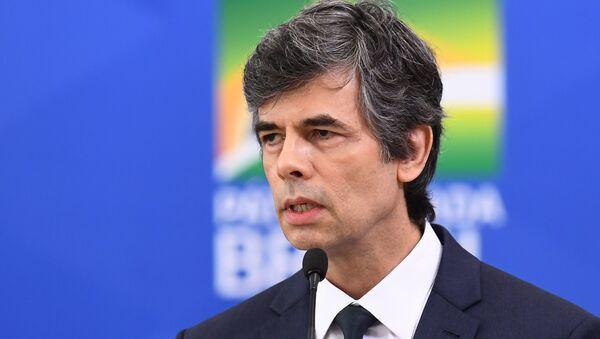 Nelson Teich, exministro de Salud de Brasil - Sputnik Mundo