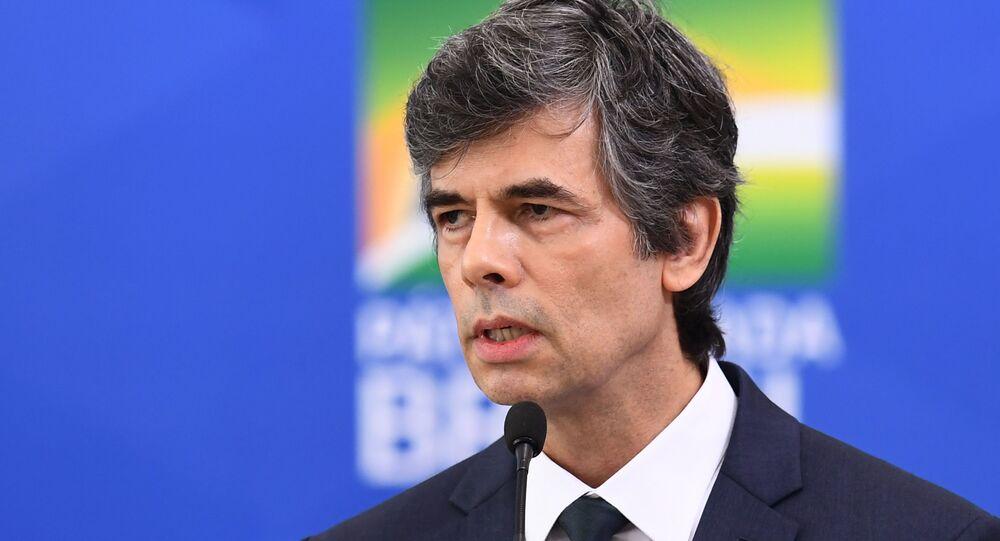 Nelson Teich, exministro de Salud de Brasil