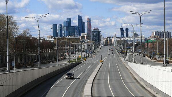 Cuarentena en Moscú - Sputnik Mundo