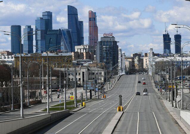Cuarentena en Moscú
