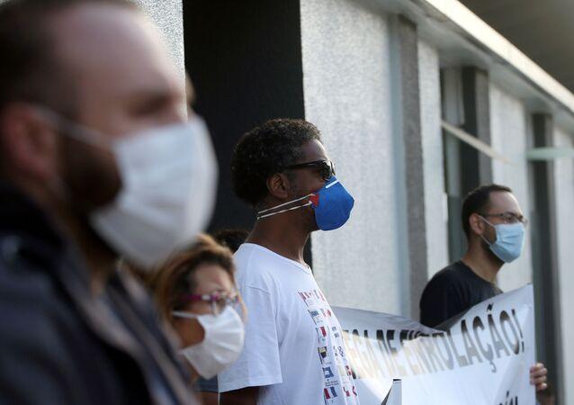 Coronavirus en Sao Paulo, Brasil