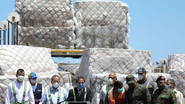 Ayuda humanitaria a Venezuela (imagen referencial) - Sputnik Mundo