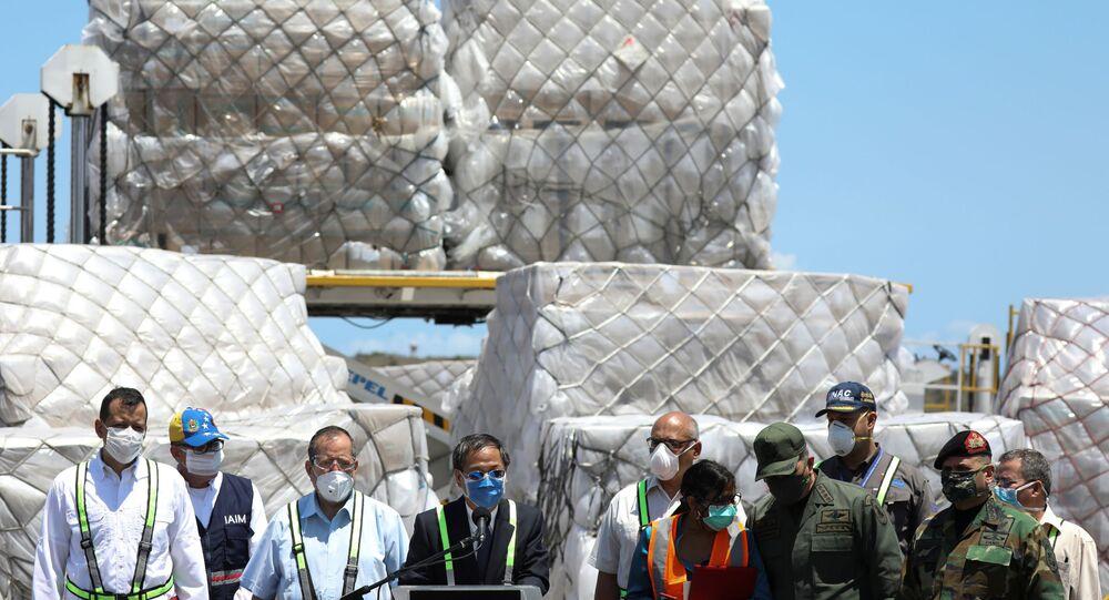 Ayuda humanitaria en Venezuela (imagen referencial)