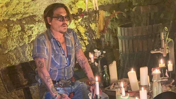 Johnny Depp, actor estadounidense - Sputnik Mundo