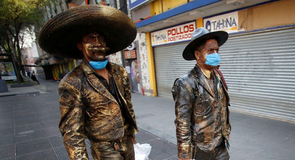 Brote de coronavirus en México