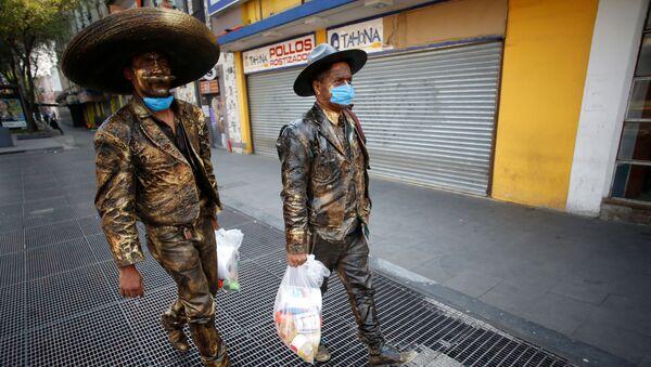 Brote de coronavirus en México - Sputnik Mundo