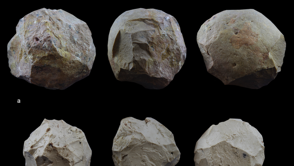 Réplicas experimentales de las bolas de piedra - Sputnik Mundo