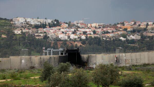 Vista general a los territorios ocupados de Cisjordania  - Sputnik Mundo